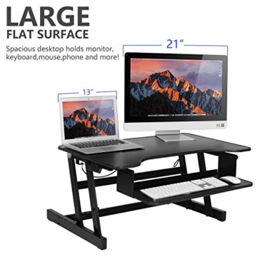 Ergoneer Workstation höhenverstellbarer Schreibtischaufsatz kaufen