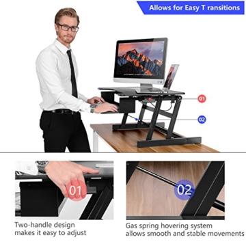 Ergoneer Workstation Schreibtischaufsatz