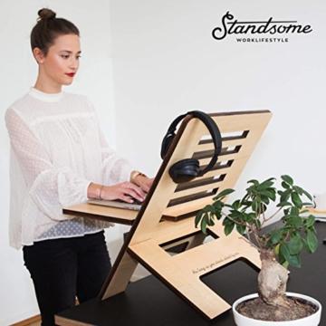 Standsome Slim höhenverstellbarer Schreibtischaufsatz kaufen