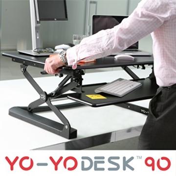 Yo-Yo Desk 90 Schreibtischaufsatz