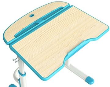 Leomark smart blau höhenverstellbaren stehschreibtisch kaufen