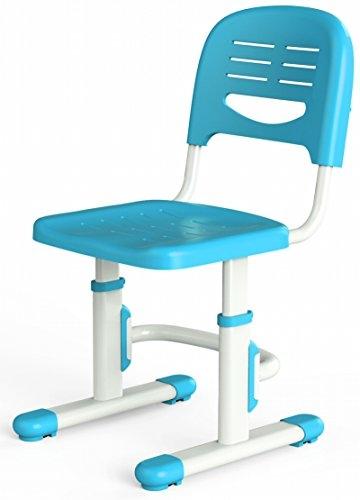 Leomark smart blau kinderschreibtisch höhenverstellbar mit stuhl