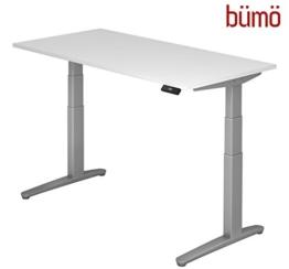 buemoe weiß elektrisch höhenverstellbarer schreibtisch