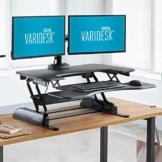 VARIDESK Pro Plus 36 elektrisch höhenverstellbarer schreibtischaufsatz