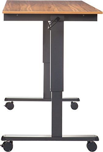 Stand Up Desk Höhenverstellbarer Tisch kaufen Walnuss