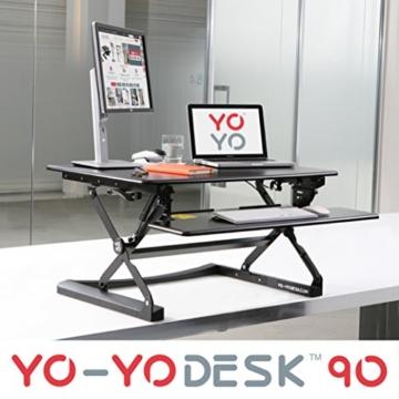 Yo-Yo Desk 90 höhenverstellbarer Schreibtischaufsatz kaufen