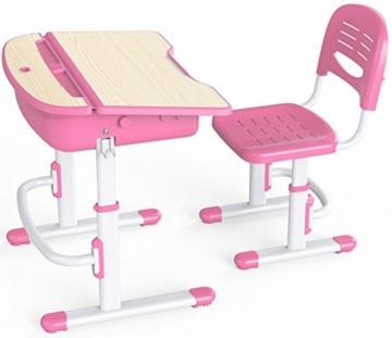 Leomark smart rosa kinderschreibtisch kaufen