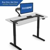 flexispot e2b elektrisch höhenverstellbarer schreibtisch