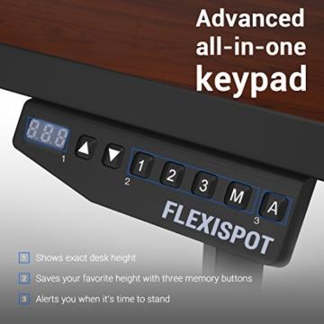 flexispot e2b höhenverstellbarer schreibtisch kaufen